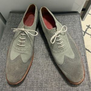 Grenson Two-Toned Suede brogues